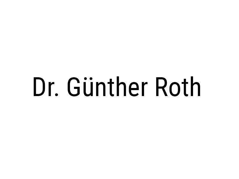 Dr. Günther Roth